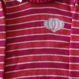 Стильный шерстяной свитер гольф для девочки в наличии от 122-128