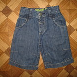 Стильные тоненькие шорты Next мальчику на 3,5-5 лет