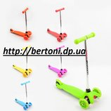 Детский самокат скутер трехколесный 466-668A