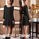 Платье трикотажное G-413 от natali vmode