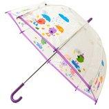 Бесплатная доставка. Прозрачные детские зонты Zest.