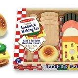 Деревянный набор Сэндвич Melissa & Doug