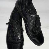Туфли спортивные footglove 37-38размер кожа по стельке 24см