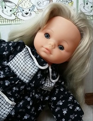 Кукла винтажная Италия Zanini Zambelli