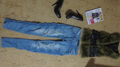 Классные джинсы на р 44 .как новые