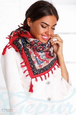 Красивый платок палантин