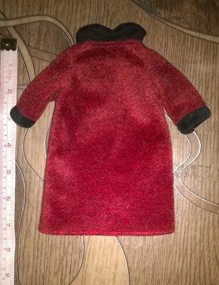 Фирменное пальто на куклу,одежда,кукла