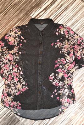 Шифоновая блузка -Италия AMISU