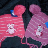 Красивые шапки на девочек 48-52,зима,Сова