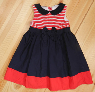 Стоковое котоновое красивое платье Designed with Love на возраст 18-24 мес.и рост 92 см.