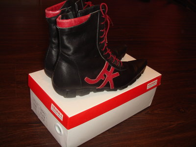 ботинки натуральные
