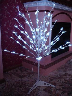 Шикарное большое Светящееся дерево с мерцанием огоньков светильники дом интерьер Новый год новогодне