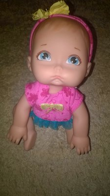 Характерная коллекционная кукла,пупс обижулька