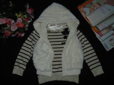 Меховой жилет Girl2Girl 5-6л 110-116см Мега выбор обуви и одежды