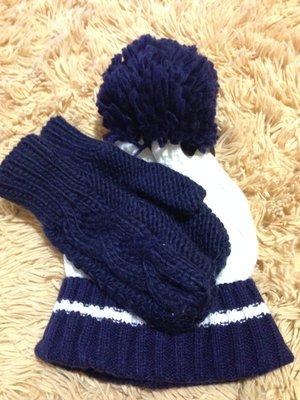 Тёплая Шапочка рукавички.Англия.