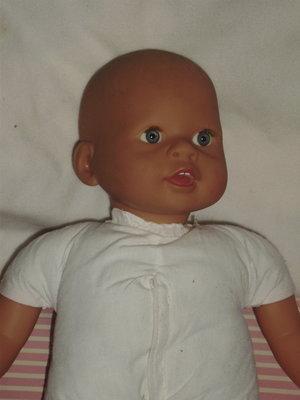 шикарный интерактивный пупс младенчик Германия номерное клеймо 42 см