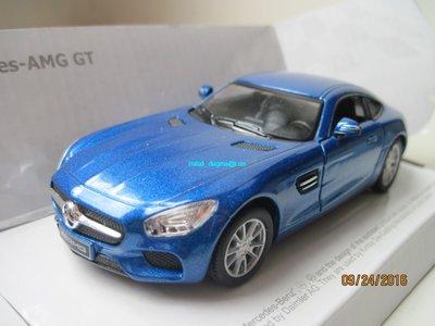 Машинка металл Mercedes Benz AMG GT Kinsmart
