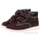 Кожаные Утеплённые Ботинки с Мембраной Mrugala 20-38 Размеры 4 цвета