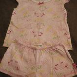 Пижама на девочку Mini Bite мини байт , размер подойдет на 5-7 лет 128-134см