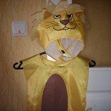 Карнавальный костюм Львенок 2-4 года